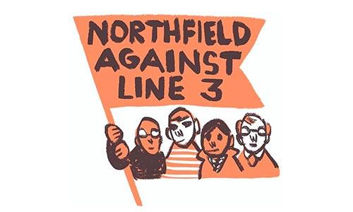 Northfield Against Line 3 Graphic