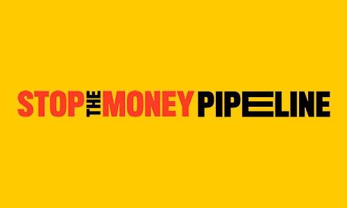 Stop the Money Pipeline Logo