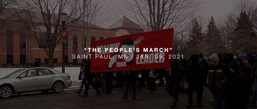 The People's March Video Cover