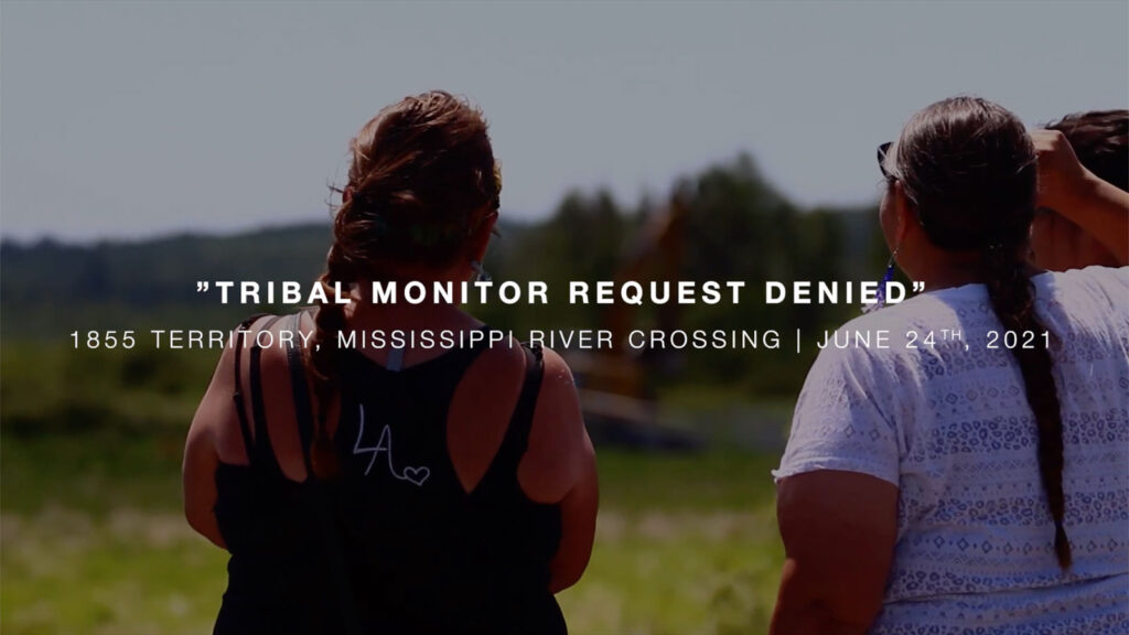 Line 3 Tribal Monitor Request Denied at Mississippi Headwaters