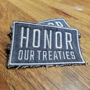 Honor Our Treaties Patches - Click to View in Marketplace!